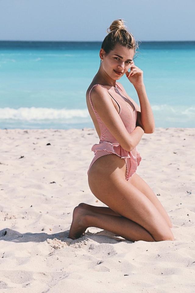 bañador bikini mujer verano playa traje swimwear beachwear