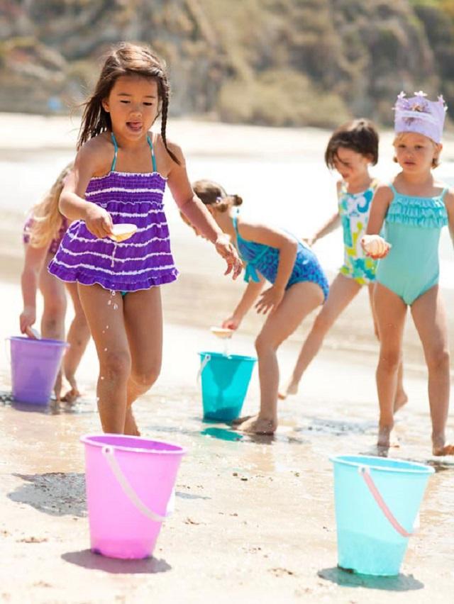 ideas juego verano niños agua