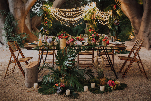 boda alicante jardines abril novia vestido helena mareque tropical decoracion wedding