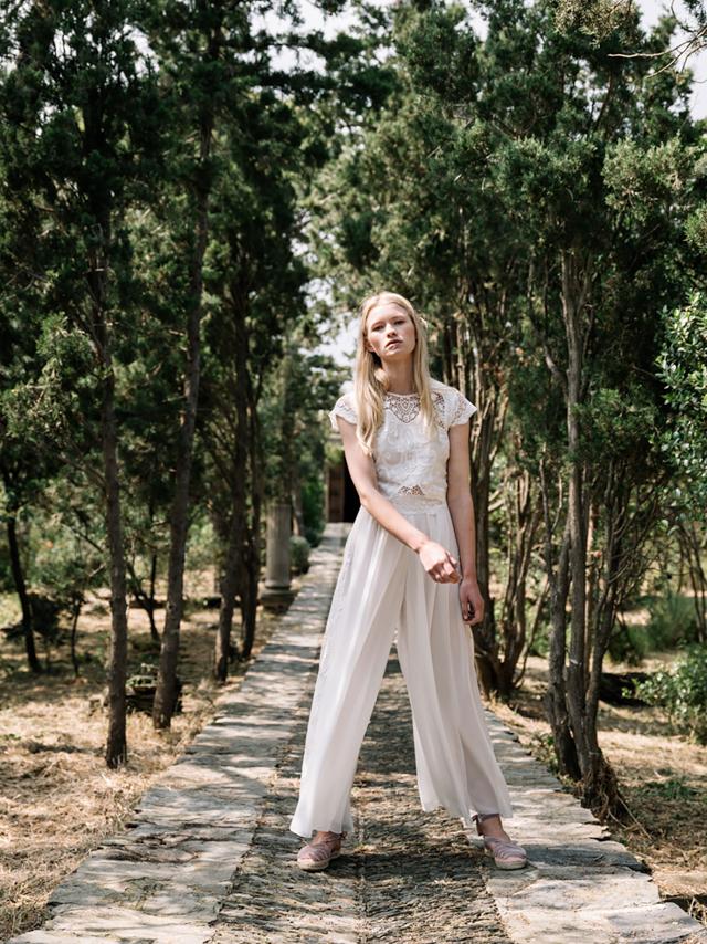 marta marti vestido novia sencillo barcelona blog bodas