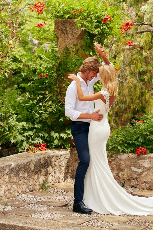 st. patrick pronovias white one vestidos de novia tatuaje bordado princesa