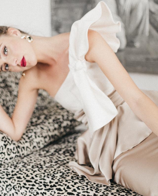 vestido corto invitada boda blog perfecta look cherubina sevilla madrid