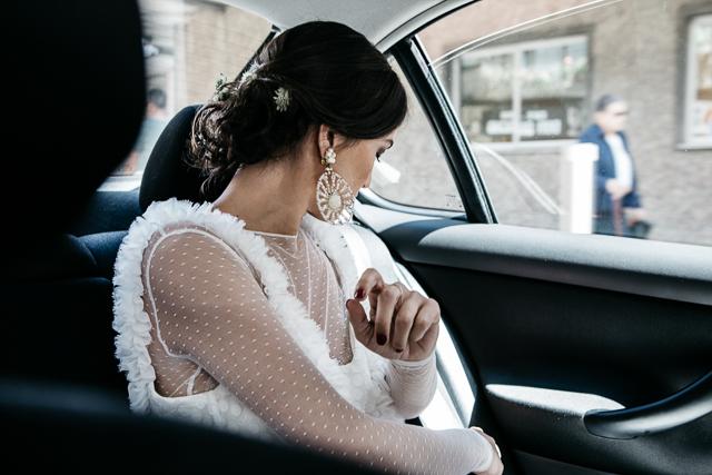 boda galicia pazo lagar pintos novia vestido sara lage