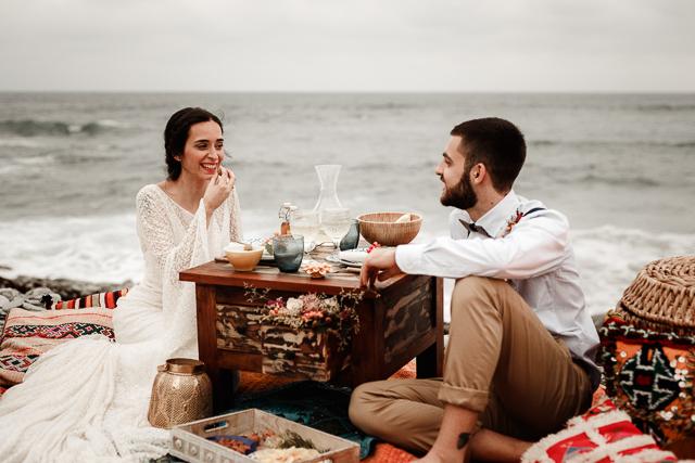 boda bohemia otaduy árabe marroquí tendencias mar