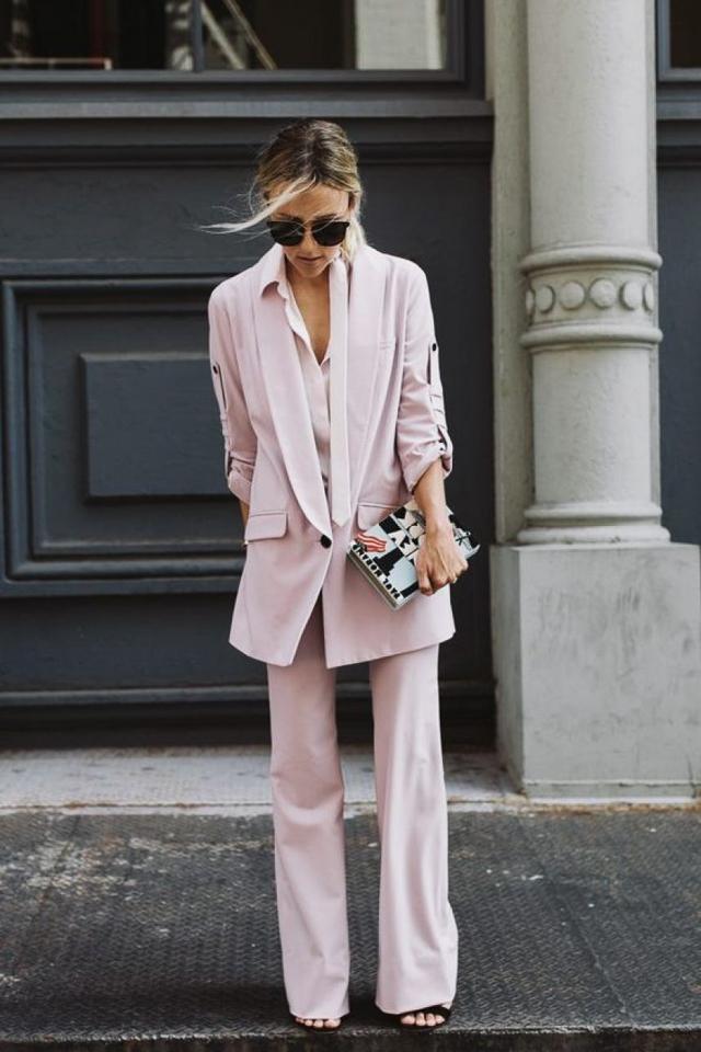 traje pantalón invitada boda perfecta look suit blog atodoconfetti