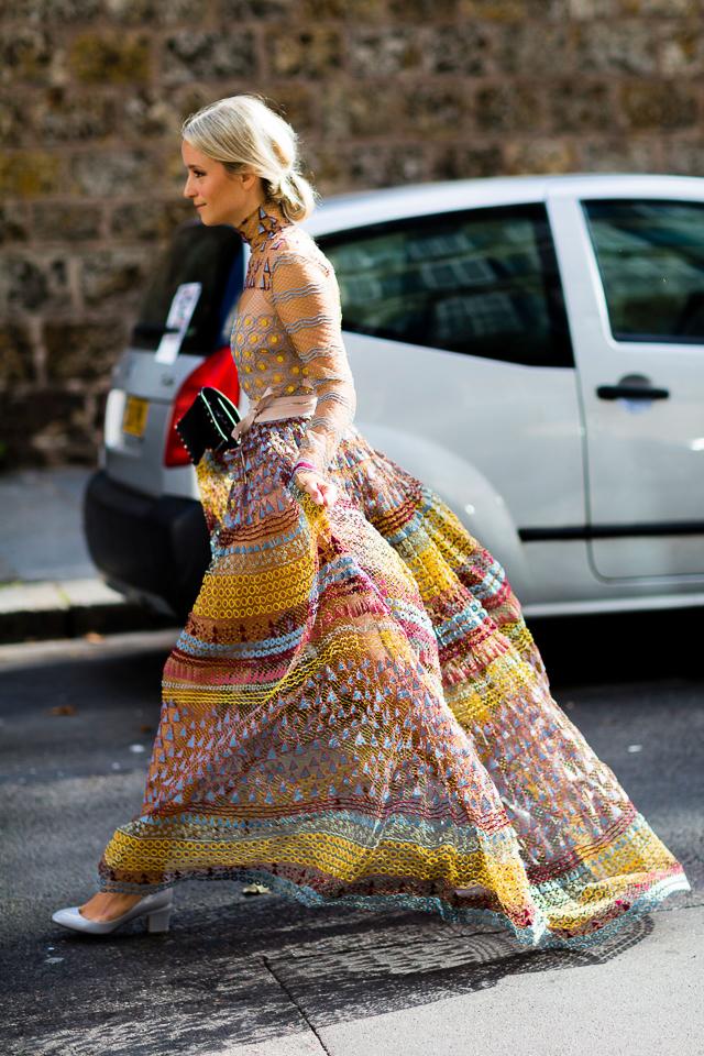 vestido invitada boda perfecta look blog cuello alto