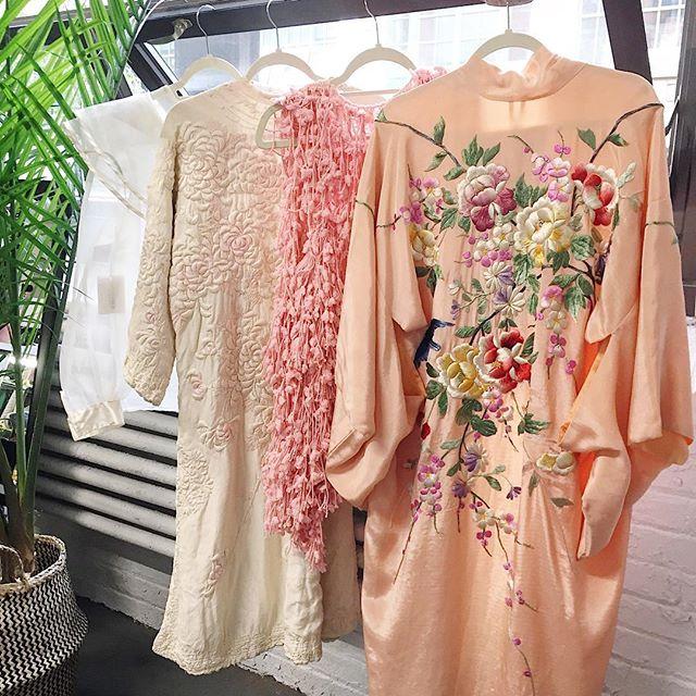 gossamer kimono vintage complemento invitada