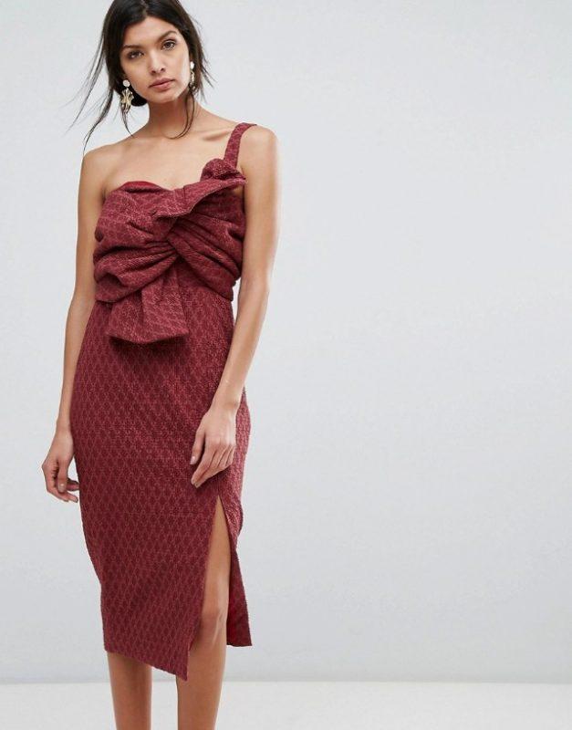 asos vestido corto fiesta invitada boda blog atodoconfetti