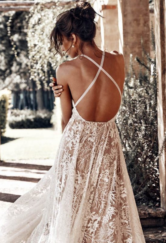 grace loves lace wedding dress vestido novia bohemio boho