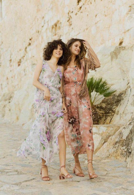 tamara falco tfp vestido invitada largo fiesta flores boho bohemio