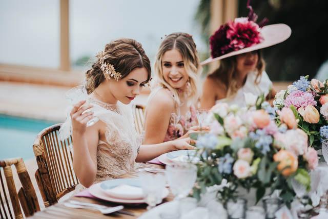 vestido flores bordadas alberto Mahtani boho marco y maria vestido flores bordadas