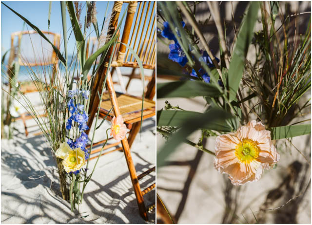 galicia boda playa beach wedding decoracion flores decoration decor