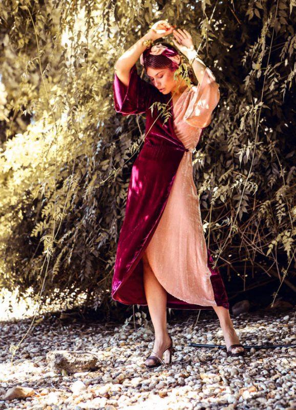 panambi vestido invitada fiesta boda otoño invierno mono