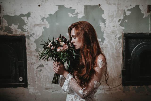 ramón herrerías vestido novia boda boho wedding dress gown