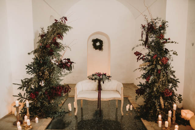 boda invierno navidad decoración wedding winter decor