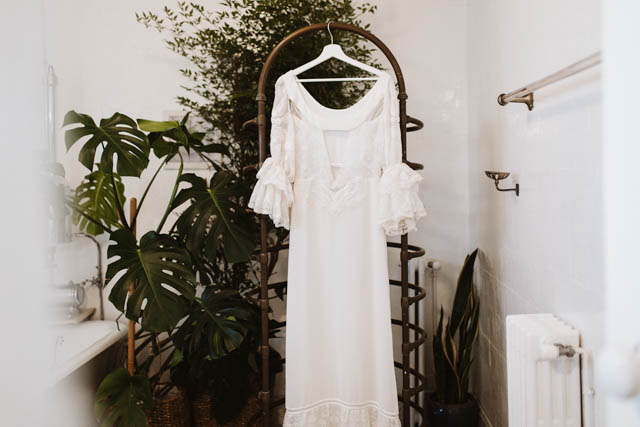 sara lage vestido novia boda galicia verbena madrid boho vintage wedding dress