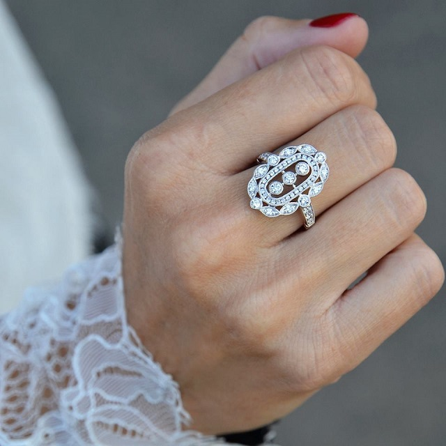beaprincess anillo pedida compromiso vintage ring