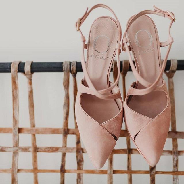 zapatos novia otaduy rosa