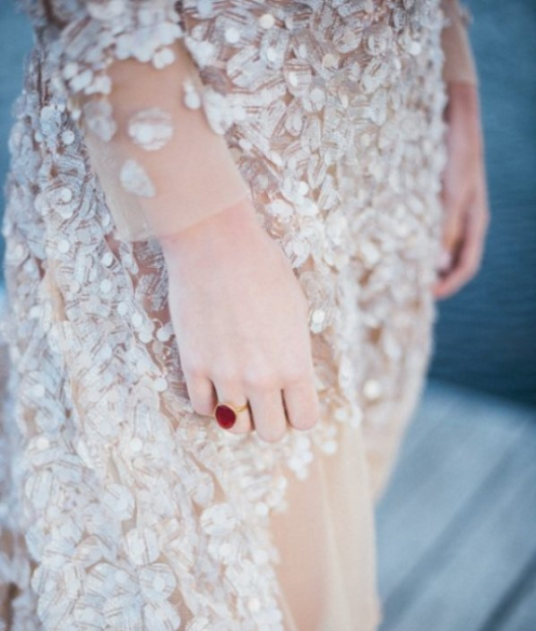 vestido novia lentejuelas brillo