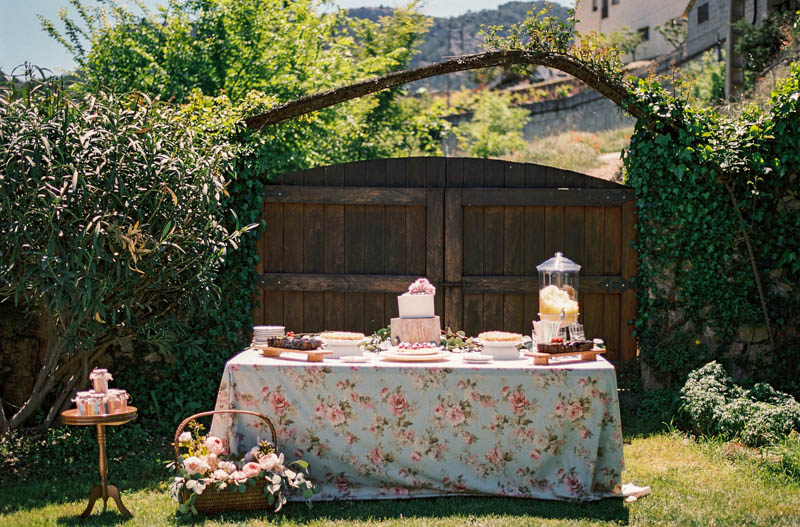 bautizo idea decoracion fiesta mesa flores primavera