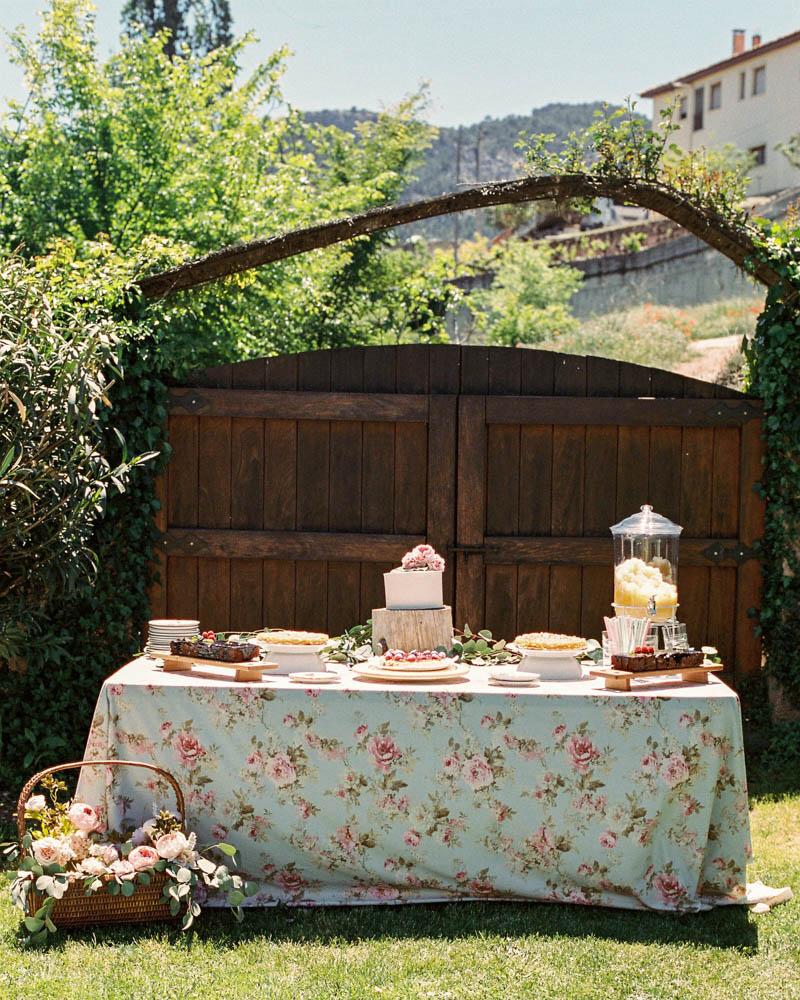 bautizo idea decoracion fiesta mesa flores primavera 17