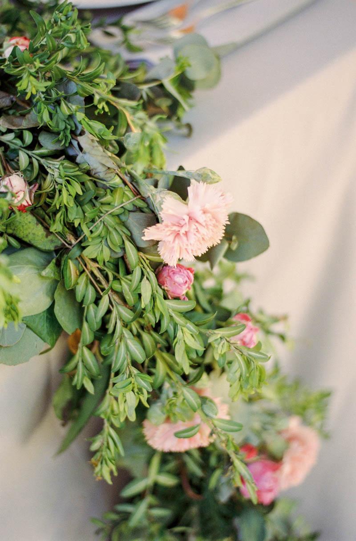 bautizo idea decoracion fiesta mesa flores primavera 35