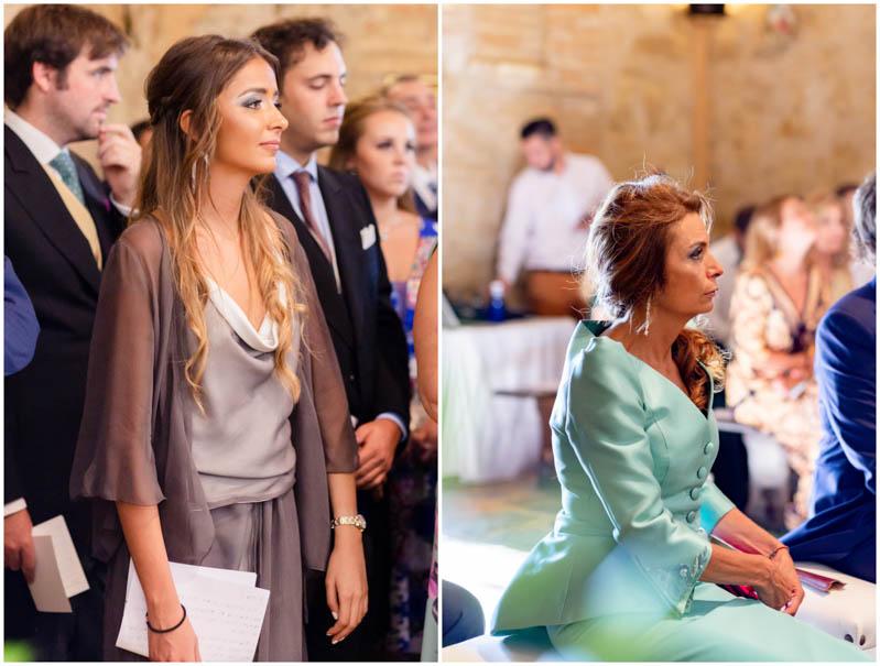boda zamora vestido novia pantalon sombrero mono capa 3