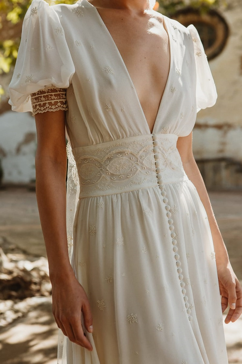 larca barcelona vestido novia vintage wedding dress bridal 10