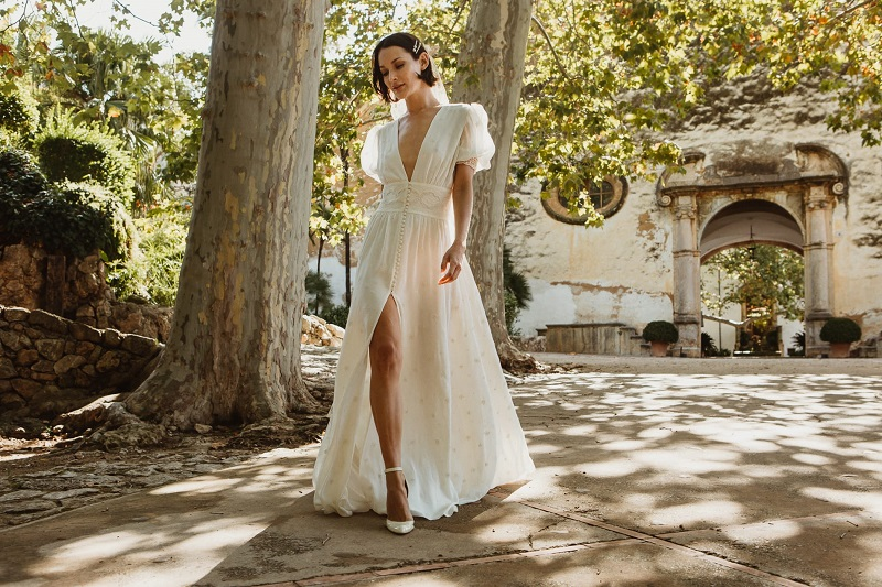 larca barcelona vestido novia vintage wedding dress bridal 13