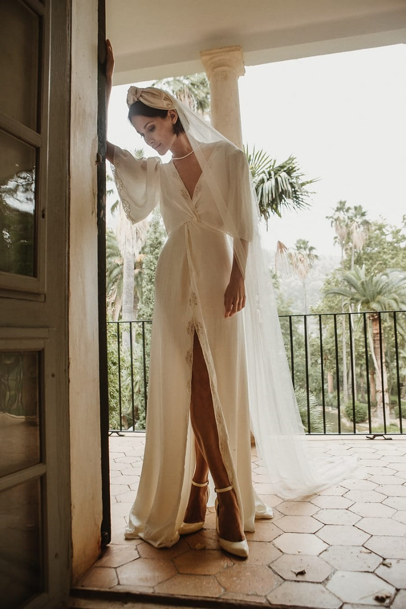 larca barcelona vestido novia vintage wedding dress bridal 17