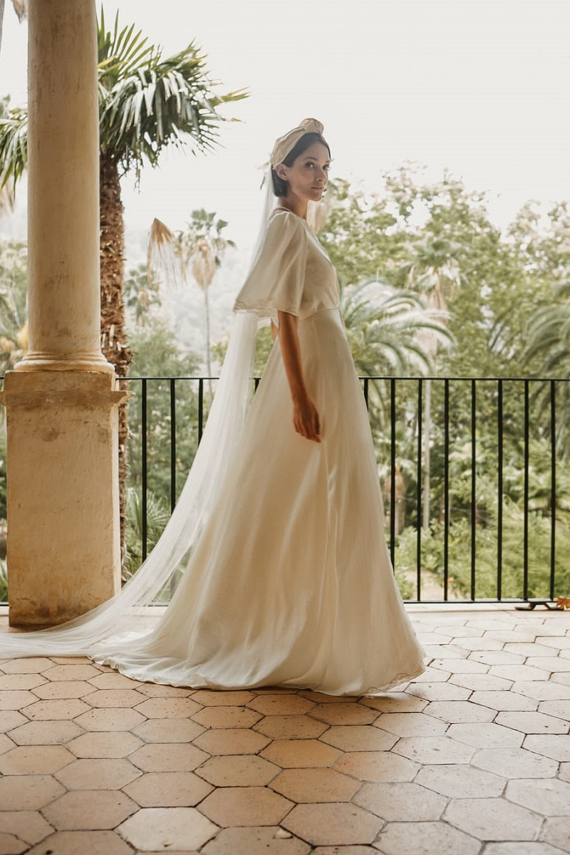 larca barcelona vestido novia vintage wedding dress bridal 18