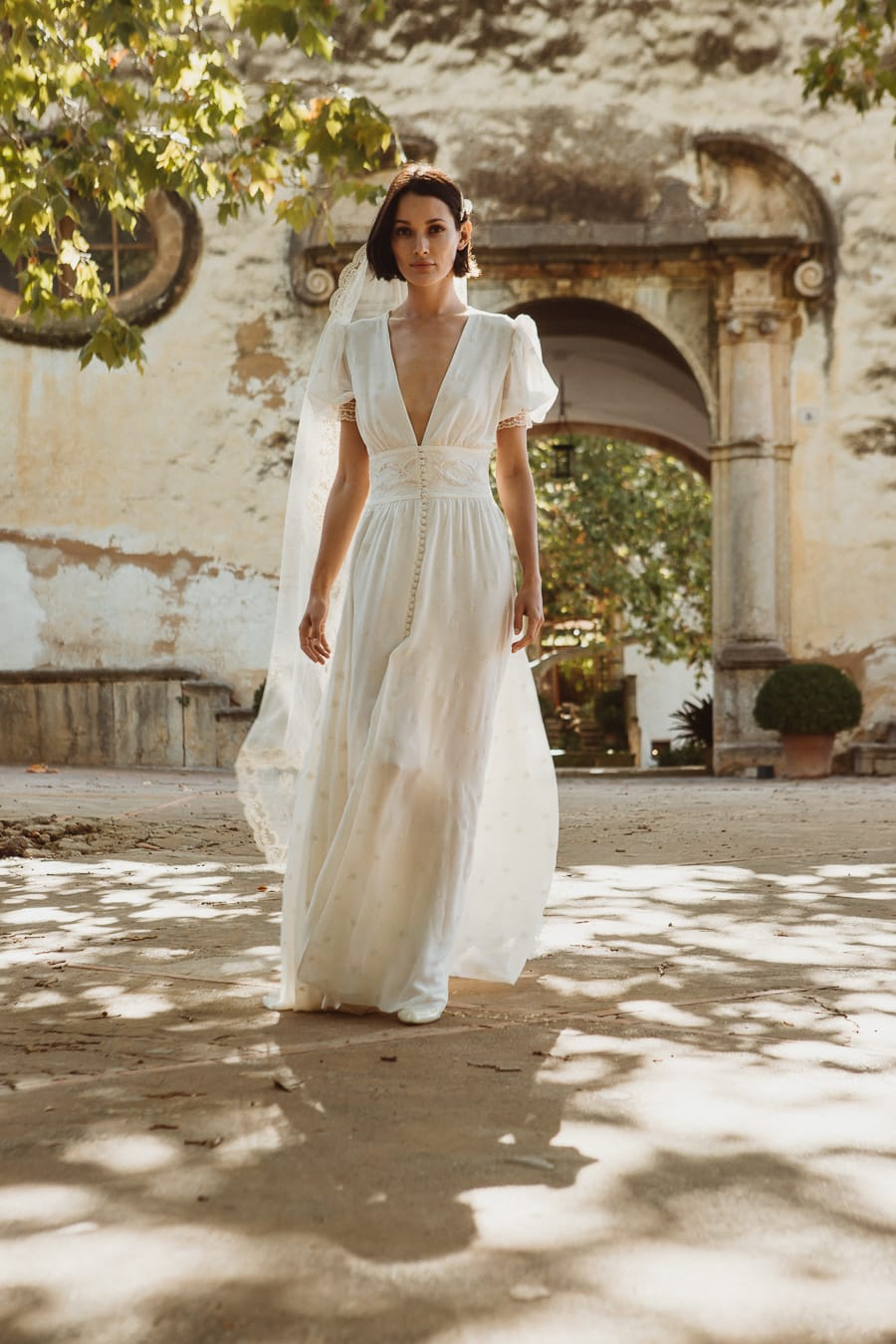 larca barcelona vestido novia vintage wedding dress bridal 2