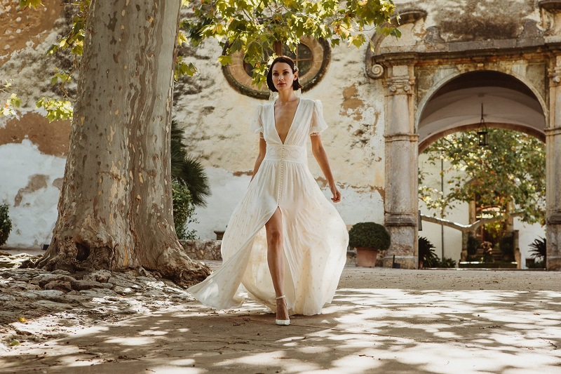 larca barcelona vestido novia vintage wedding dress bridal 30