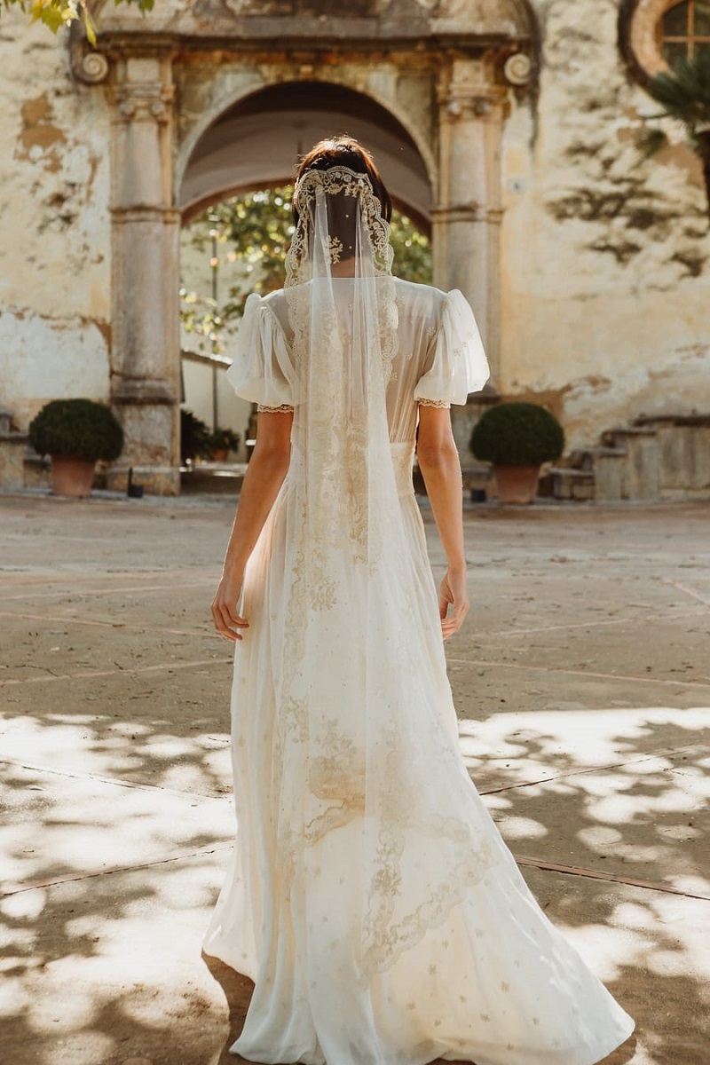 larca barcelona vestido novia vintage wedding dress bridal 32