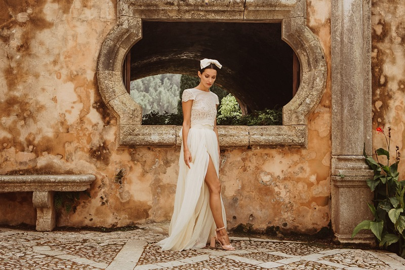 larca barcelona vestido novia vintage wedding dress bridal