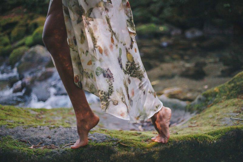 ramo novia flores seda ecoprint las flores de greta