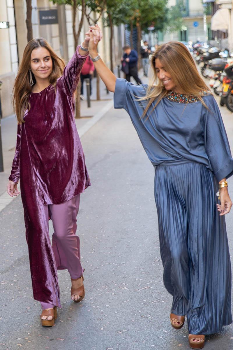 maria roch vestido fiesta invitada boda largo barcelona blog atodoconfetti