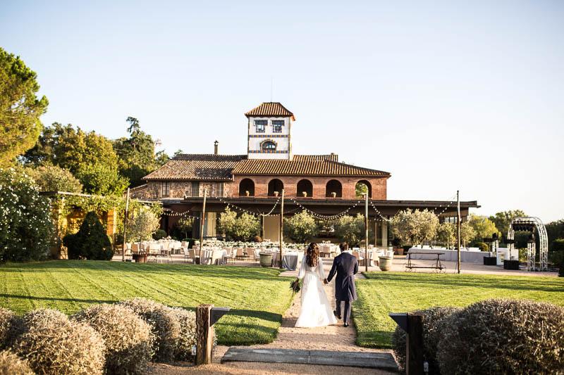 vestido novia arca barcelona boda la roureda