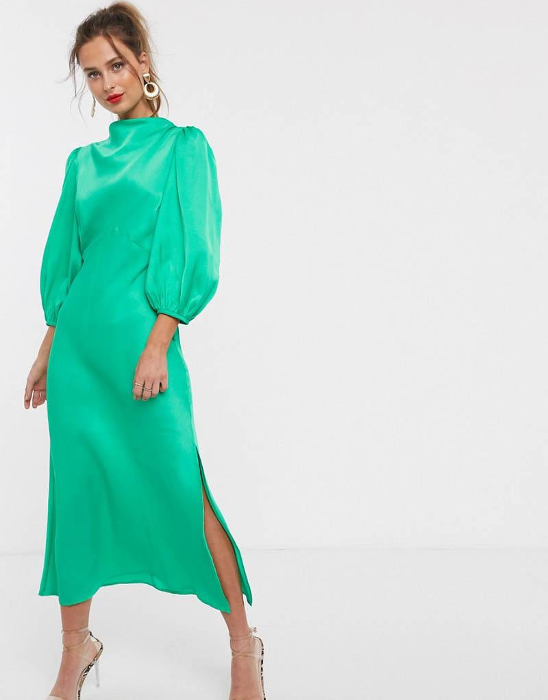 vestido manga larga fiesta boda invitada asos blog atodoconfetti