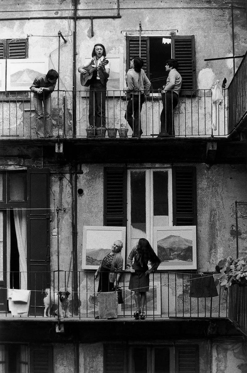 concierto balcon casa