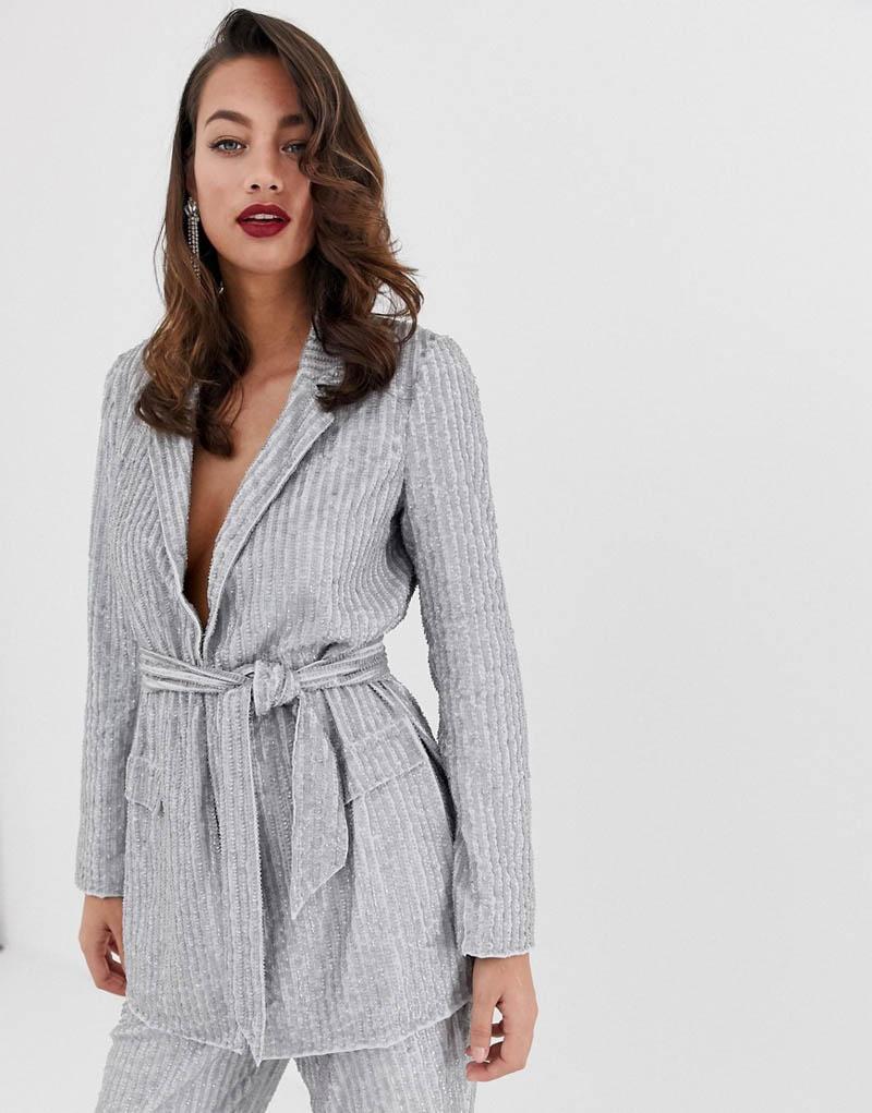 traje chaqueta asos invitada fiesta boda dos piezas blog vestido
