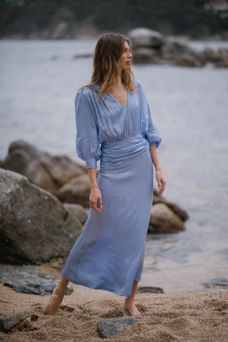valentina gari vestido fiesta invitada boda barcelona