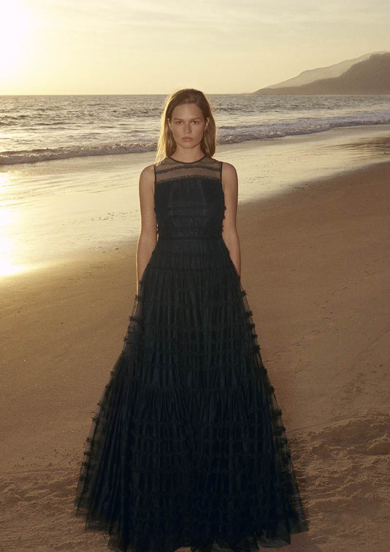 vestido invitada boda fiesta hm conscious exclusive