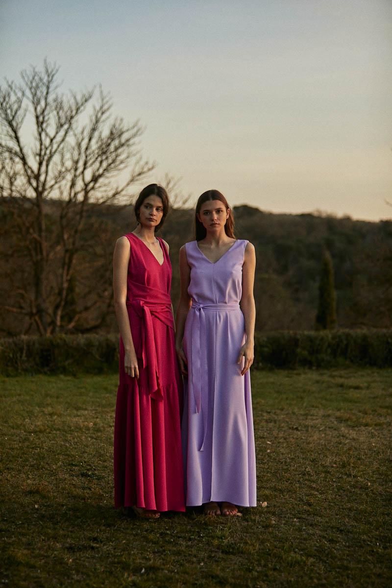 vestido largo invitada fiesta boda clotilde senillosa barcelona