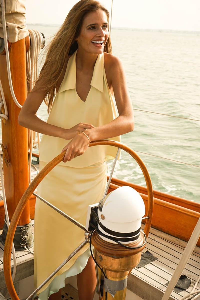 vestido largo invitada boda fiesta verano bag blanca astolfi