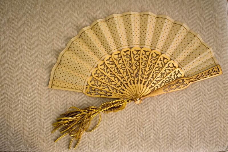 vestido novia santos costura detalles dorados barcelona blog bodas