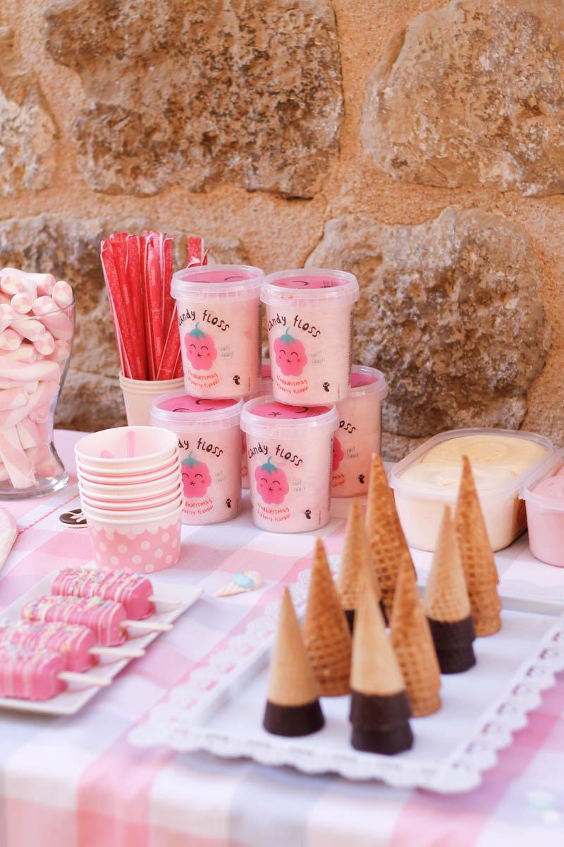 fiesta infantil helados cumpleano ice cream birthday party