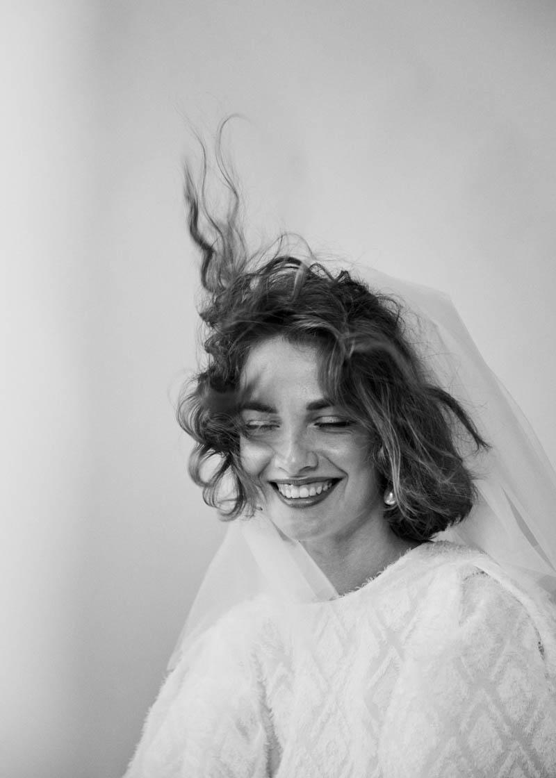 vestido novia sencillo alejandra oria diferente madrid