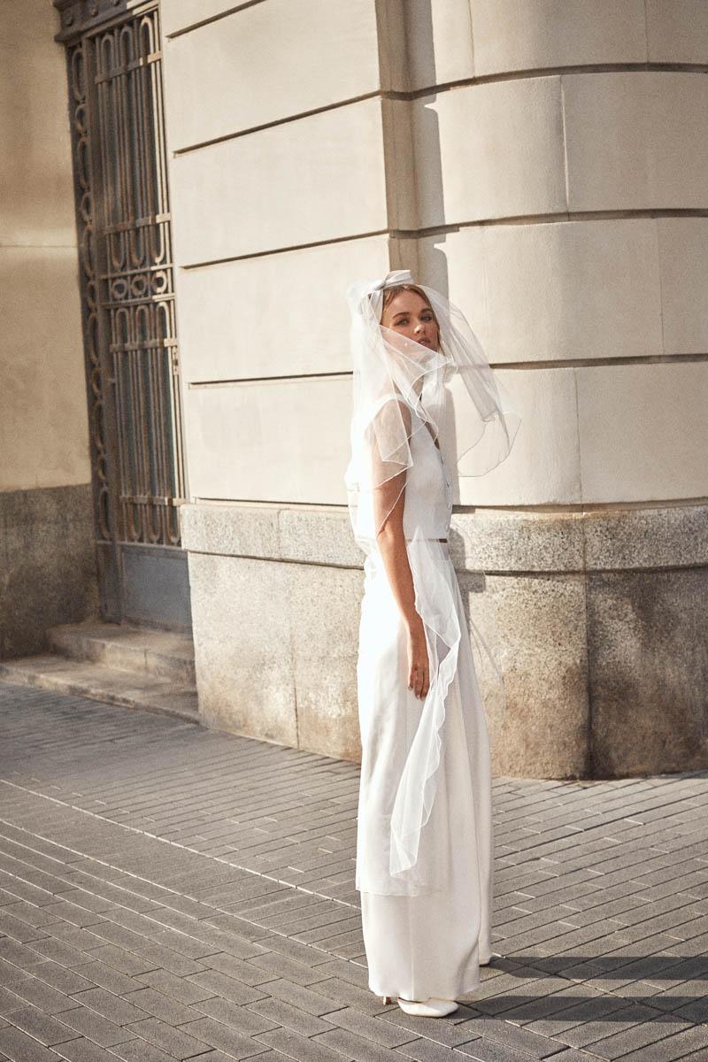 vestido novia sencillo larca blog bodas atodoconfetti