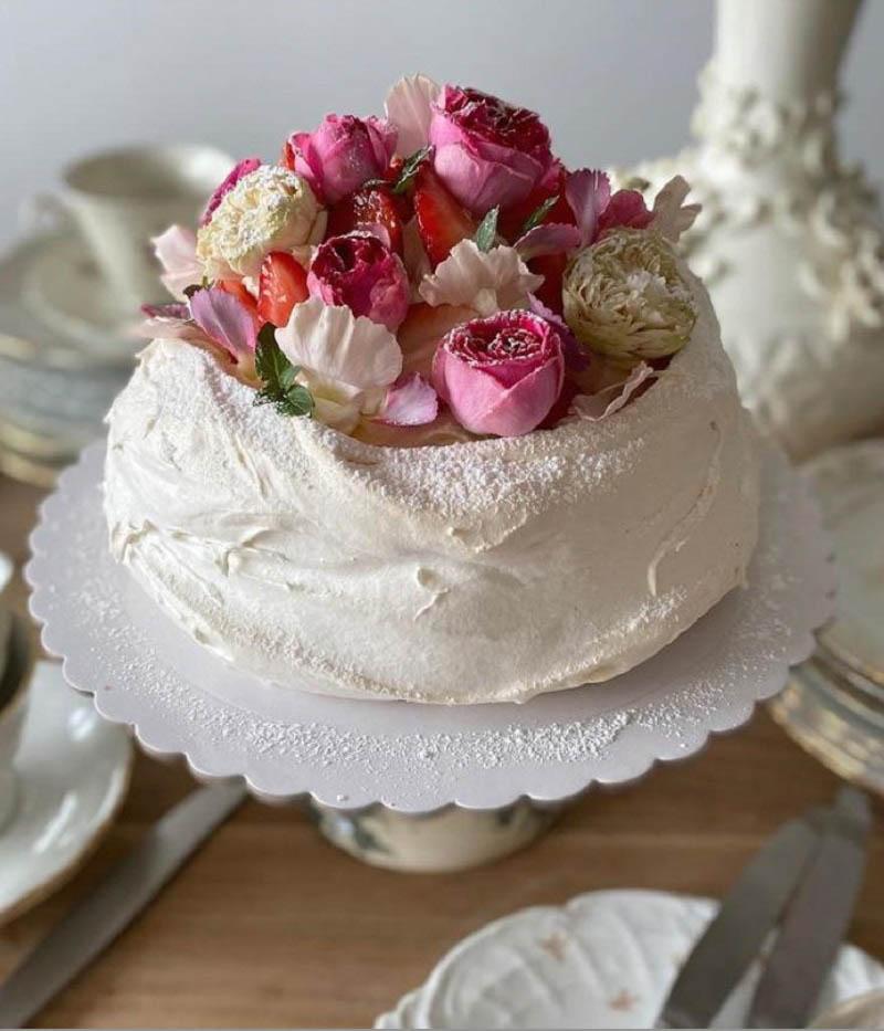 tarta pastel flores lacreme madrid sofisticakes cake